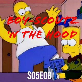 54) S05E08 (Boy-Scoutz 'n the Hood)