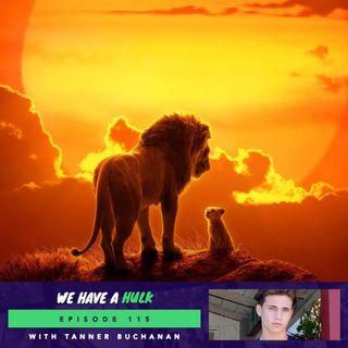 The Lion King and Cobra Kai's Tanner Buchanan