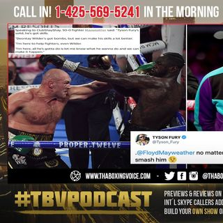☎️Floyd Mayweather Offers to Train Deontay Wilder For Fury Third Fight😱We Can Make His Skills Better