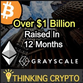 $500M Invested In Grayscale Crypto Fund - Ethereum Surpases Bitcoin Transactions - Stablecoin Ban Libra - BitGo