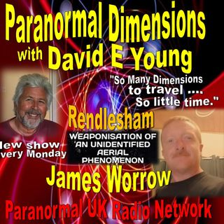 Paranormal Dimensions - James Worrow - 030121
