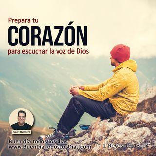 Escuchar a Dios en la suave brisa