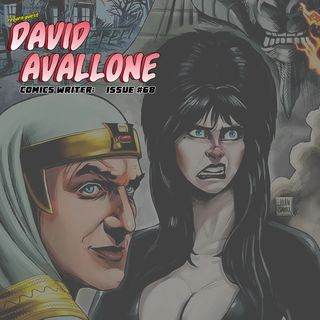 Exploring the craft of storytelling, David Avallone on comics, humor, inclusion, and the writing process