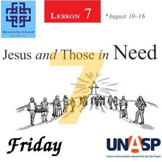 Sabbath School Aug-16 Friday