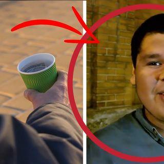 Cacciato di casa dai genitori a soli 15 anni è diventato un senzatetto ecco la storia di Kevin!