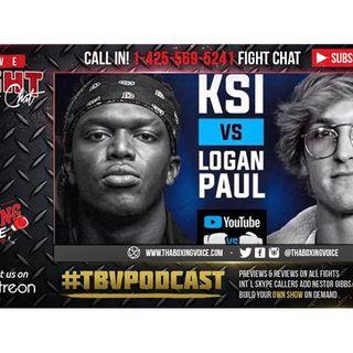 🔥KSI VS. LOGAN PAUL [OFFICIAL 🔴LIVE 🎥STREAM & FIGHT 🦍CHAT]