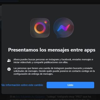 ¿Se unen Messenger e Instagram?