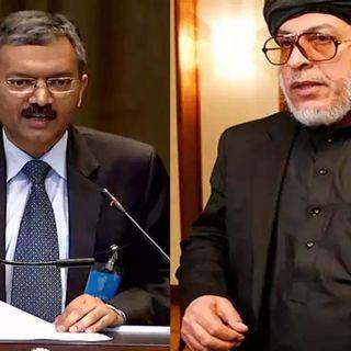 Taliban leader meets with Indian envoy in Doha, Qatar