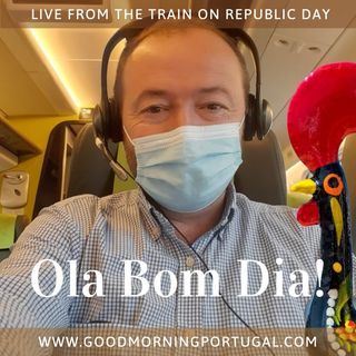 Portugal news, weather & today: LIVE from the Alfa Pendular Express!