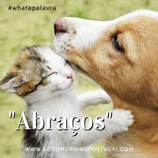 "Good Morning Portugal! What a Palavra? ""Abracos"""
