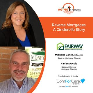 1/13/21: Fairway Independent Mortgage Corporation's Reverse Mortgage Planner Michelle Zafiris, MBA, CSA & National Reverse Mortgage Director