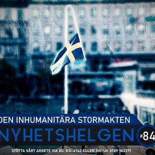 Nyhetshelgen #84 – Den inhumanitära stormakten, AFS mot riksdagen, kriminalitet och moral