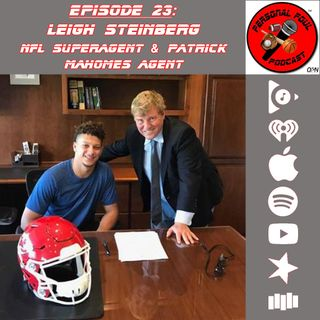 23. Leigh Steinberg, Agent for NFL MVP Patrick Mahomes