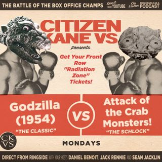 Godzilla vs Attack of the Crab Monsters - With Special Guest Rob Feetham