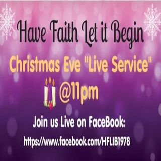 Christmas Eve 11pm Service!