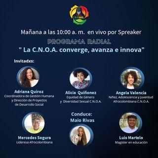 La C.N.O.A. converge, avanza e innova