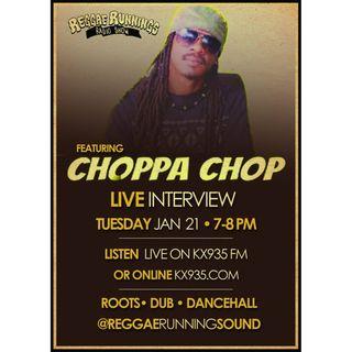 Reggae Runnings | Choppa Chop Interview