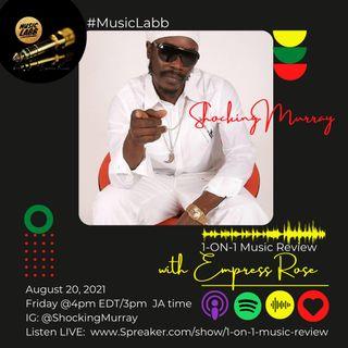Shocking Murray graces the Music Labb studios