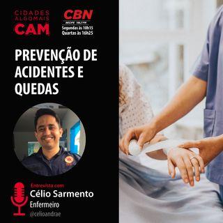 Prevenção de acidentes e quedas (entrevista Célio Sarmento)