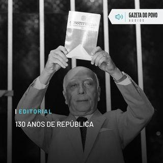 Editorial: 130 anos de República