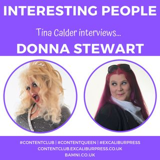 Tina Calder interviews Dolly Parton tribute act Donna Stewart | #ContentQueen #TinaCalder