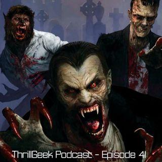 Episode 41 - Halloween Horror Nights announcement Wrap-up