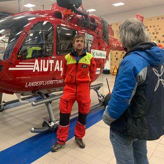 30 anni Aiut Alpin, l'angelo rosso delle Dolomiti (di Stefan Wallisch)