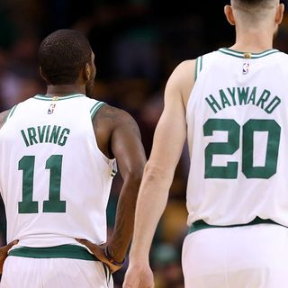 Gordon Hayward, Kyrie Irving Healthy And Ready To Go For Celtics