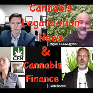 Cannabis Financial Network, Cannabis Legalization News