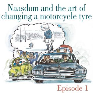 Ep.1 Naasdom and the art of changing a motorcycle tyre