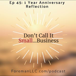 Ep 45: DCIS 1 Year Anniversary Reflection