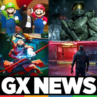 GX News 015 - Super Nintendo World, Halo Infinity, Cyberpunk 2077, Among Us en Switch, The Pathless y Fun and Serious