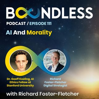 EP111: Dr. Geoff Keeling, AI Ethics Fellow at Stanford University: AI and morality
