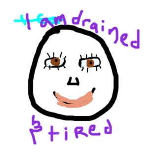 I am Drained and Tired - Dreaming