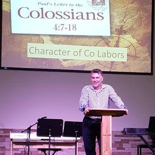 Pastor Joe's Sermon - Character of Co Labors