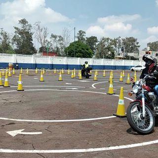 Arrancan pruebas presenciales para motociclistas, que aspiren a obtener Licencia A1 y A2.