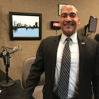 Candidate for Judge Josh Lanzinger is in to talk about his re-election