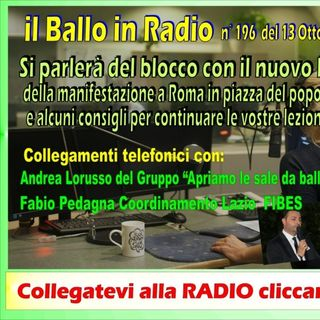 Tony Mantineo 196 MUSICANDO il ballo in Radio