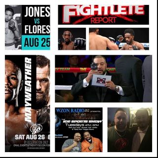 Fightlete Report Podcast August22nd 2017