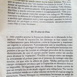 """Cap. 2 Parte 3: """"El Altar de Dios"""""""