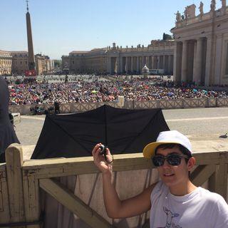 #roma Si va da papa Francesco!