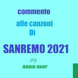 Commento alle Canzoni Di Sanremo 2021
