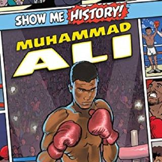 Author James Buckley, Jr discusses #ShowMeHistory : #MuhammadAli on #ConversationsLIVE ~ #yareaders #sports #historymakers #graphicnovel