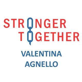 Intervista a Valentina Agnello per il progetto #StrongerTogether 2020