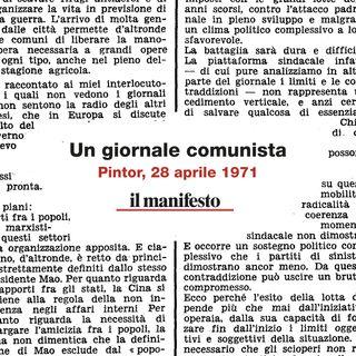 Un giornale comunista