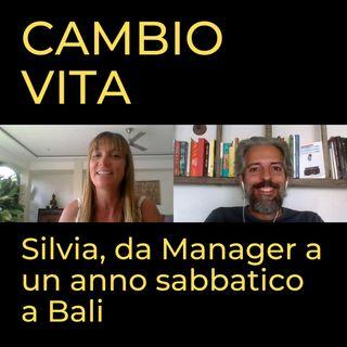 Silvia, da Manager alle onde di Bali