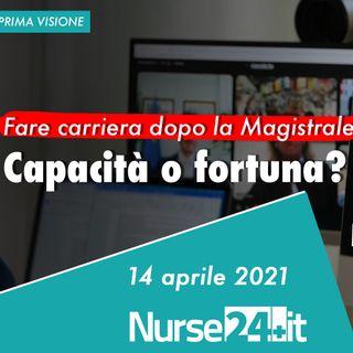 Laurea Magistrale possibilità di carriera degli infermieri