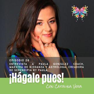 Episodio 26 - Entrevista a Paula González