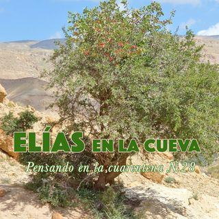 Elías (2) en la cueva (Reflexiones en la cuarentena N.28)