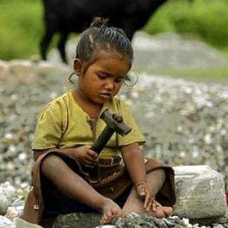 Le travail des enfantes in Indie